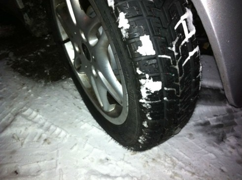 Winter Tyres - Snow On Wheels