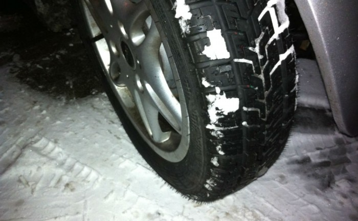 Winter Tyres Snow On Wheels 700x432 - Winter Tyres - Our thoughts - Winter Tyres - Our thoughts
