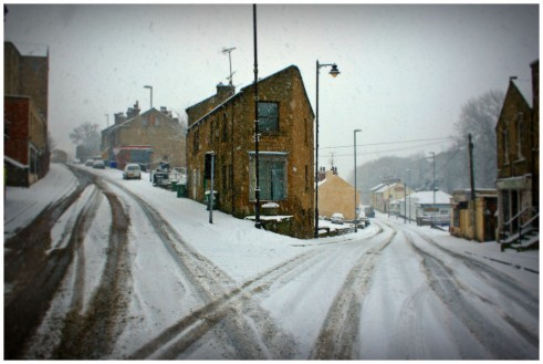 Winter Tyres - Snowy Roads