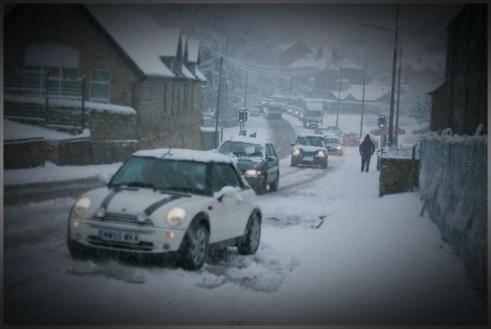 Winter Tyres - Stuck Mini Snow