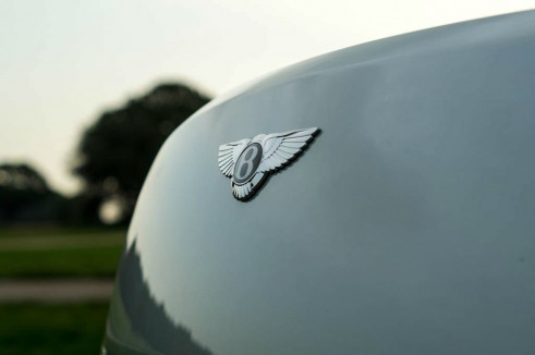 2013 Bentley Continental GT Review - Badge - carwitter