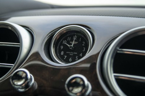 2013 Bentley Continental GT Review - Dash Clock Breitling - carwitter