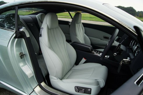 2013 Bentley Continental GT Review - Front Seats - carwitter