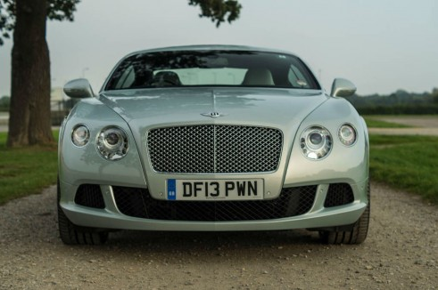 2013 Bentley Continental GT Review - Front - carwitter