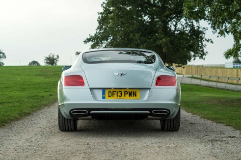 2013 Bentley Continental GT Review - Rear - carwitter