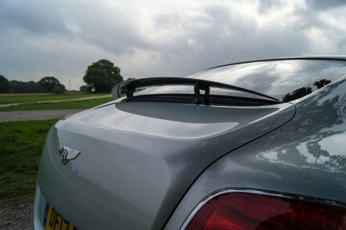 2013 Bentley Continental GT Review - Spoiler - carwitter