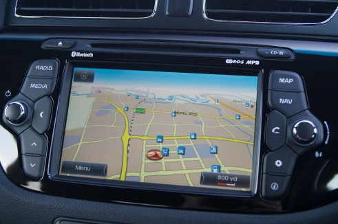 2013 Kia Proceed Review - Sat Nav - carwitter