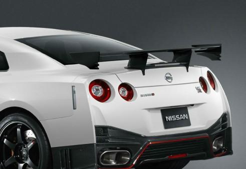 2014 Nissan Nismo GT-R - Rear Spoiler - carwitter