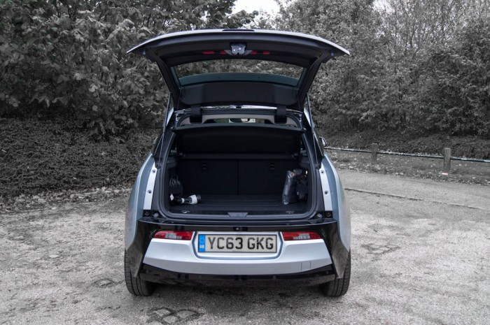 BMW i3 Review - Boot Open - carwitter