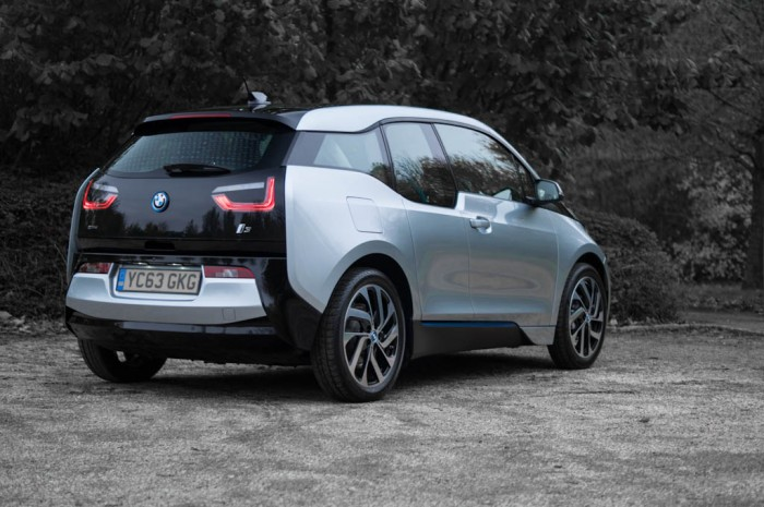 BMW i3 Review - Rear Angle - carwitter