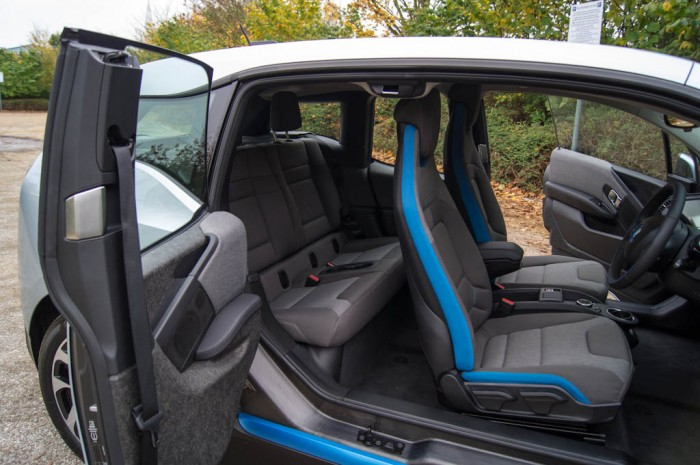 BMW i3 Review - Rear Seats - carwitter