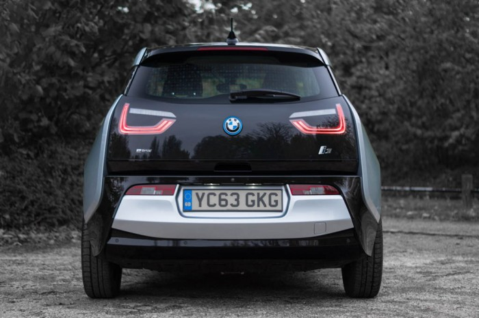BMW i3 Review - Rear - carwitter