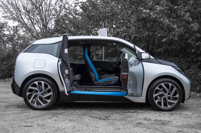 BMW i3 Review - Side Doors Open - carwitter