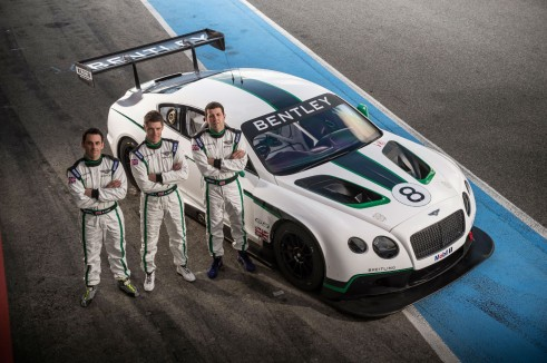 Bentley Continental GT3 Drivers - carwitterjpg