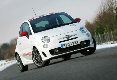 Fiat 500 Abarth Esseesse Front - carwitter