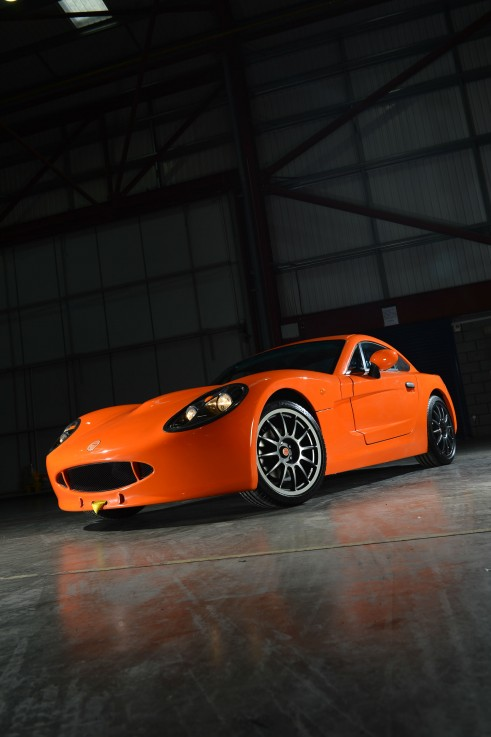 Ginetta G40R Front Angle High - carwitter