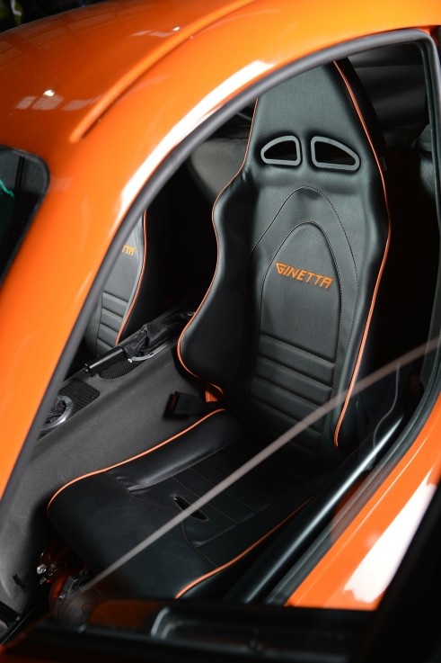 Ginetta G40R Front Seat - carwitter