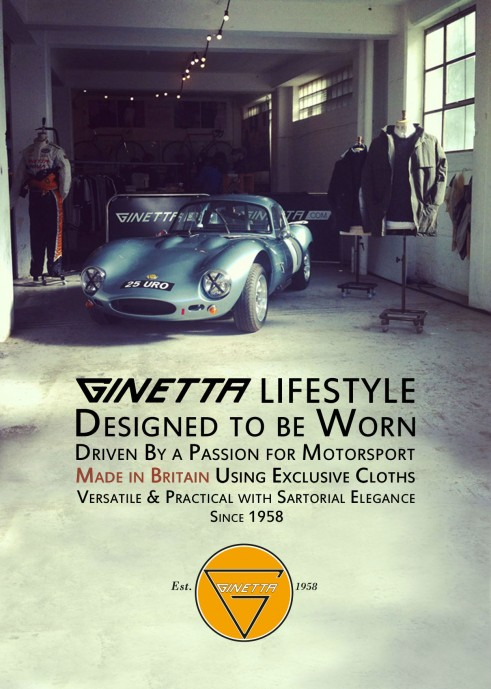 Ginetta Lifestyle Poster Flyer - carwitter