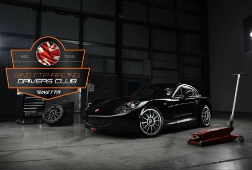 Ginetta Racing Drivers Club - Ginetta G40R Black Garage - carwitter