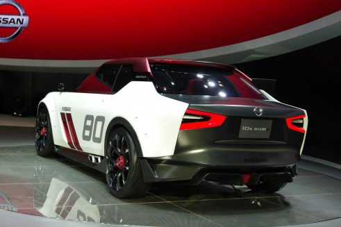 IDx_Nismo_Nissan Concept - Rear Angle - carwitter