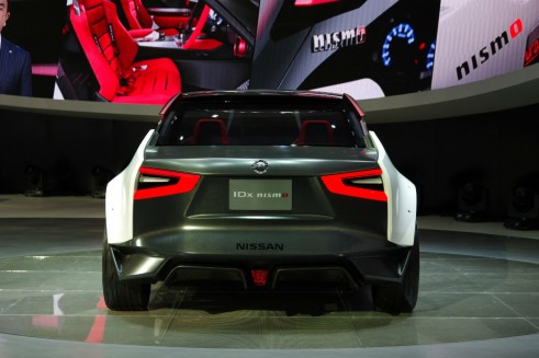 IDx_Nismo_Nissan Concept - Rear - carwitter