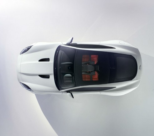 Jaguar F-TYPE Coupe First Official Photo - carwitter