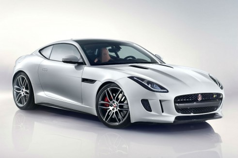 Jaguar F-Type Coupe Front Angle - carwitter