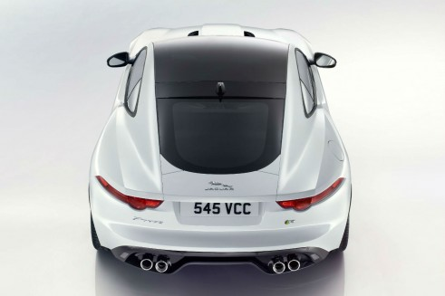 Jaguar F-Type Coupe Rear - carwitter