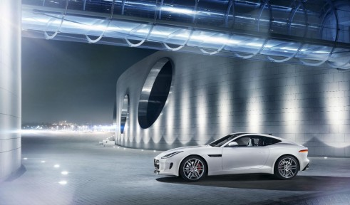 Jaguar F-Type Coupe Side Scenery - carwitter