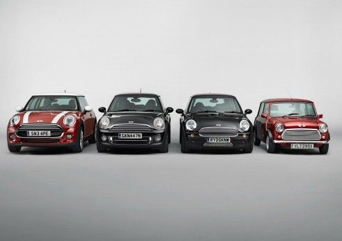 MINI Hatch Old Models Front - carwitter