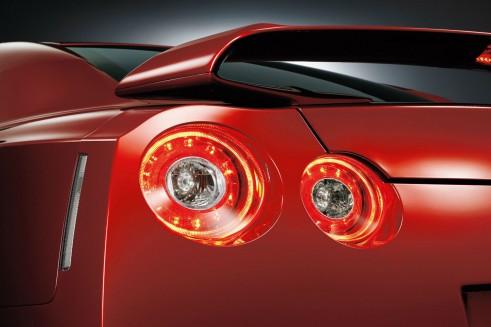 MY2014 Nissan GT-R - Rear Lights - carwitter