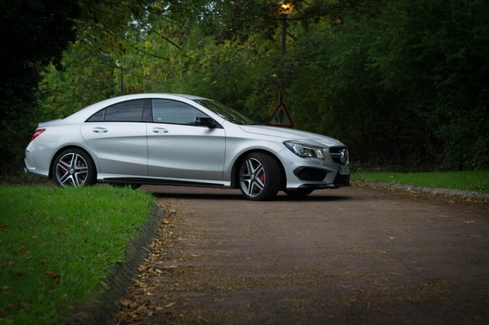 Mercedes Benz CLA45 AMG Review Side Low carwitter 700x465 - The best used Mercs to buy 2017 - The best used Mercs to buy 2017