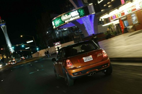Mini Cooper S Las Vegas Back - Carwitter
