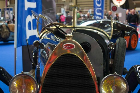 NEC Classic Car Show 2013 Review - Bugatti - carwitter