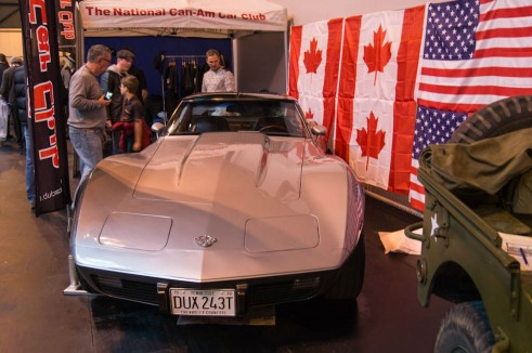 NEC Classic Car Show 2013 Review - Corvette Stingray 1970 Front - carwitter