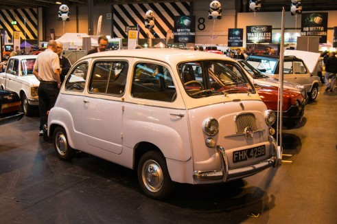 NEC Classic Car Show 2013 Review - Fiat 600 Multipla - carwitter