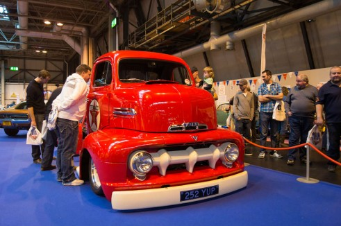 NEC Classic Car Show 2013 Review - Ford F5 Pickup - carwitter