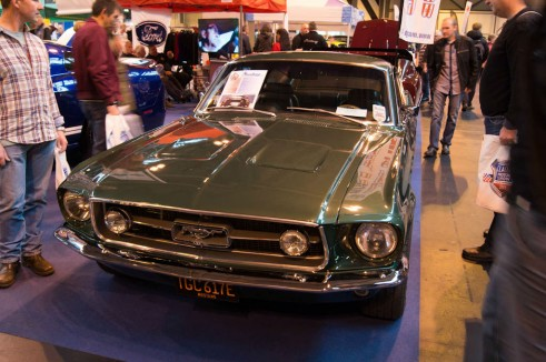 NEC Classic Car Show 2013 Review - Ford Mustang - carwitter