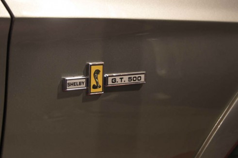 NEC Classic Car Show 2013 Review - Ford Shelby GT500 Eleanor Badge - carwitter