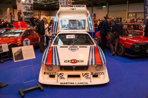 NEC Classic Car Show 2013 Review - Martini Lancia - carwitter