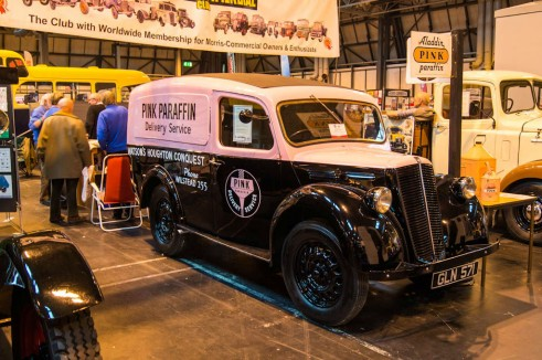 NEC Classic Car Show 2013 Review - Pink Parafin Oil Van - carwitter