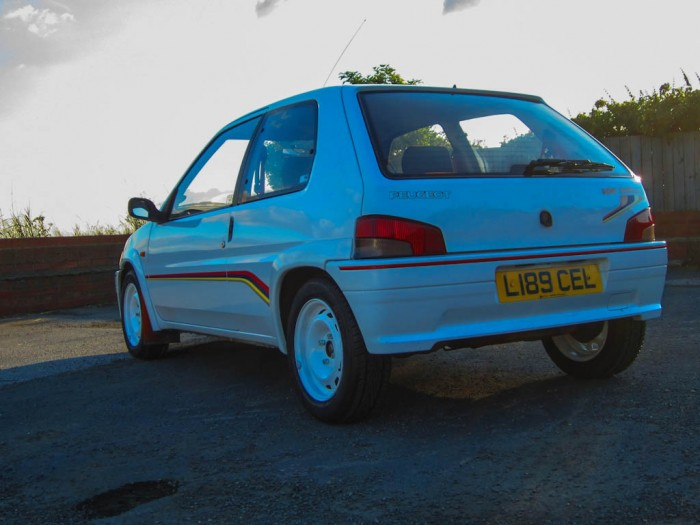 Peugeot 106 Rallye S1 Rear Angle carwitter 700x525 - Owning a Peugeot 106 S1 Rallye - Owning a Peugeot 106 S1 Rallye