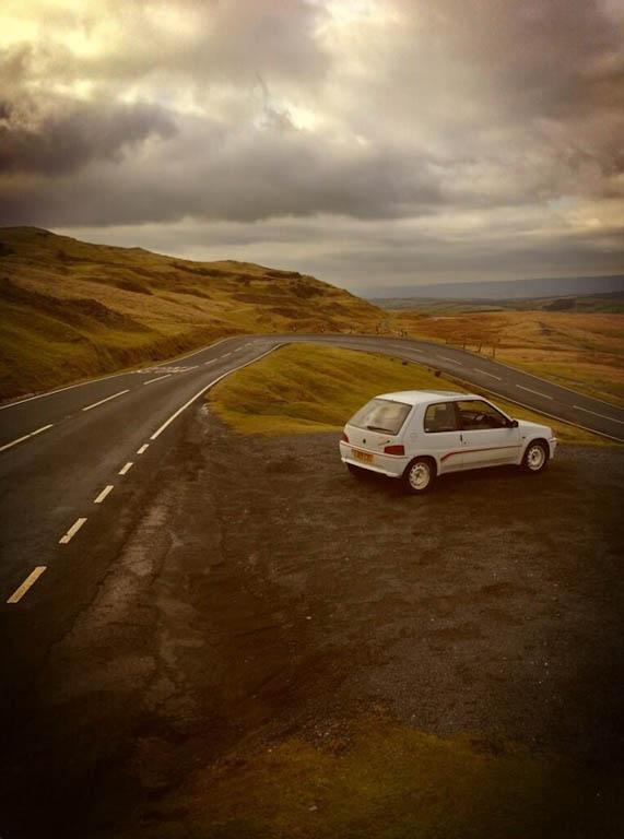 Peugeot 106 Rallye S1 Rear Scenic - carwitter