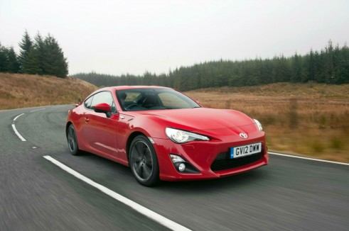 Toyota GT86 Red Front Angle - carwitter