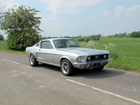 1968 Ford Mustang GT390 - carwitter