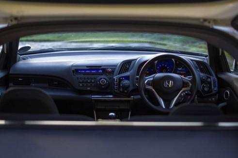 2013 Honda CRZ Review - Dashboard - carwitter
