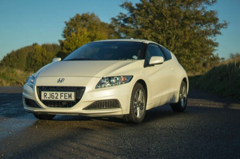 2013 Honda CRZ Review - Front Angle - carwitter
