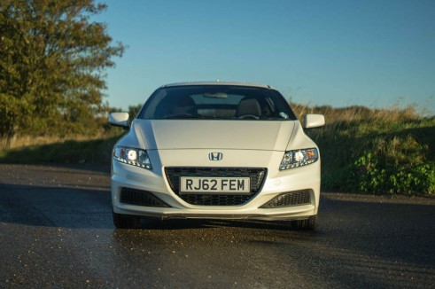 2013 Honda CRZ Review - Front - carwitter