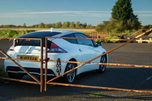 2013 Honda CRZ Review - Rear Gate - carwitter