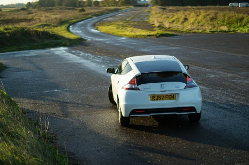 2013 Honda CRZ Review - Rear Scene - carwitter